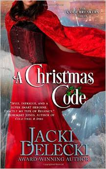 A Christmas Code – Code Breakers #2 by Jacki Delecki