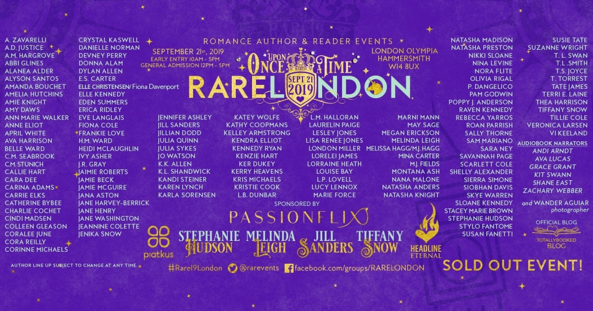RARE19 LONDON – Once Upon A Time